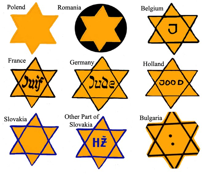 Jewish Badge Googling The Holocaust