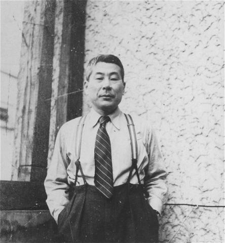 Chiune Sugihara, Kaunas, Lithuania, 1940Credit: USHMM, courtesy of Hiroki Sugihara
