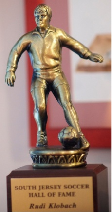 rudi klobach hall of fame trophy